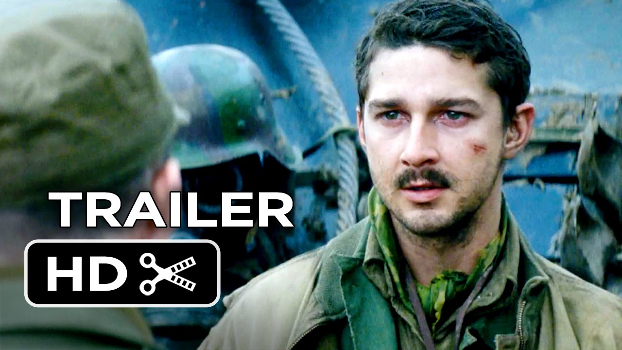 Fury TRAILER Brad Pitt Logan Lerman WWII Movie HD - New official trailer fury starring brad pitt