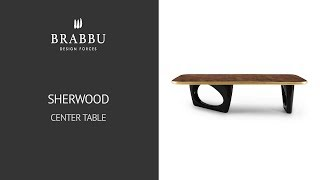 Center table Sherwood by BRABBU