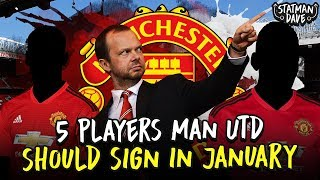5 Players Manchester United Should Sign in January...