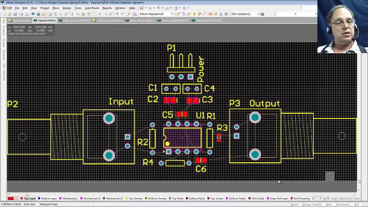 Give you complete altium designer video tutorials by ilyasskure.