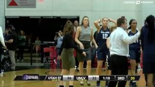 Драка в женской баскетбольной лиге. Юта - Невада.