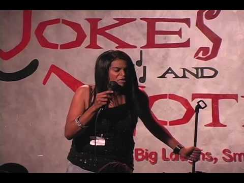 Comedian Ladydi at Jokes and Notes