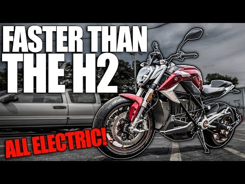 THIS ELECTRIC MOTORCYCLE IS FASTER THAN THE NINJA H2! (0-60 in 2 SECONDS)