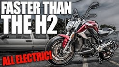 This Electric Motorcycle Is Faster Than The Ninja H2 0 60 In 2