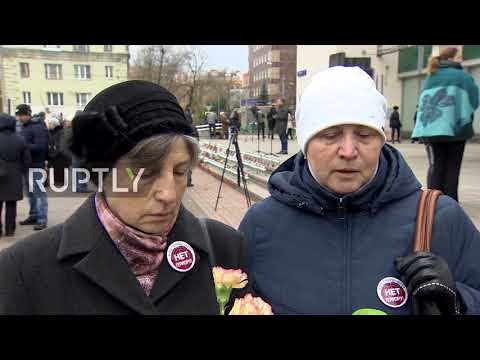 Russia: Moscow marks 15-year anniv. of Moscow Dubrovka Theatre siege