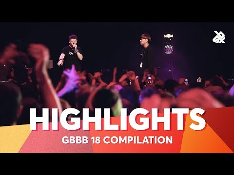 Grand Beatbox Battle 2018 Highlight Compilation