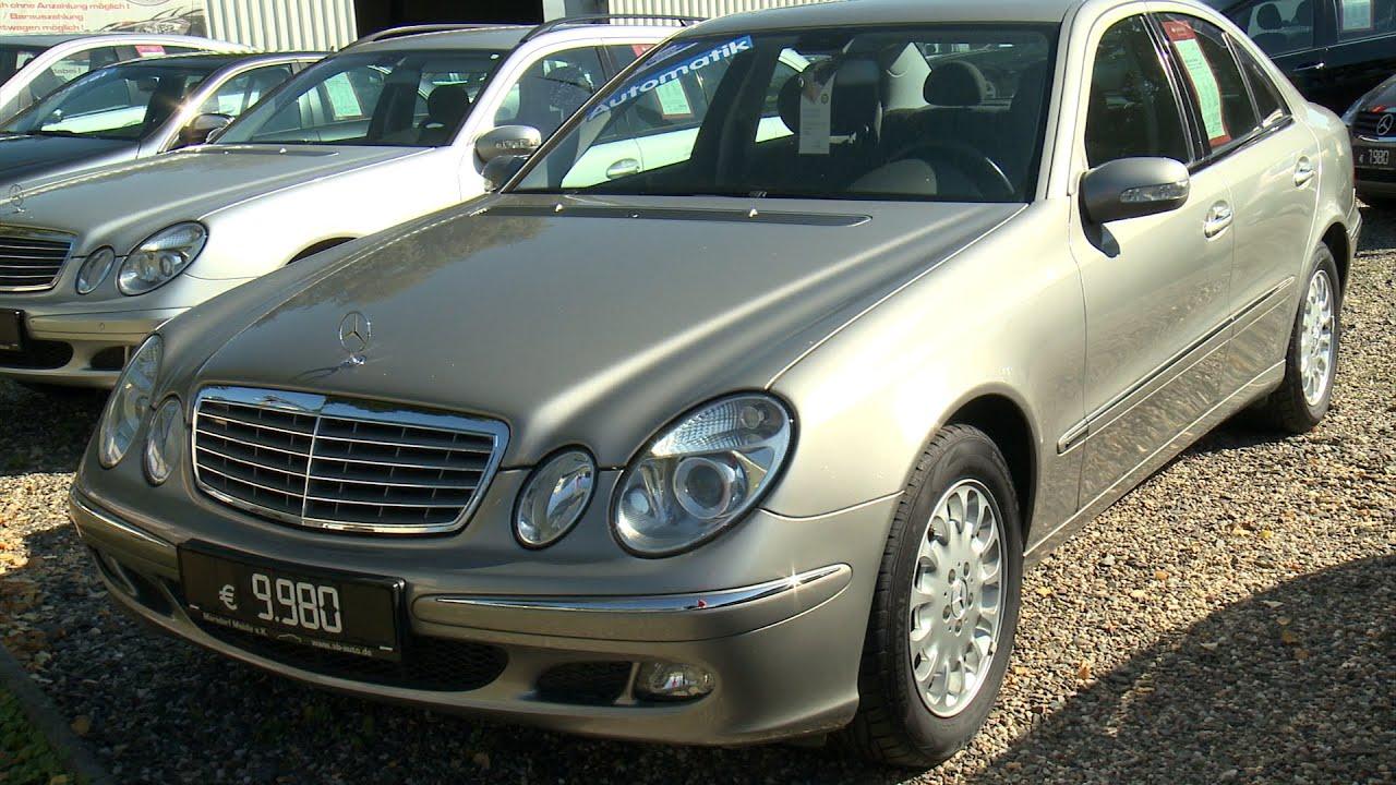 Autohaus Online Mercedes Benz E200 Kompressor Baujahr