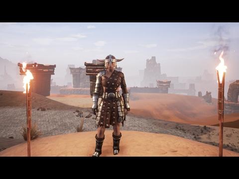 Conan Exiles - ТОП Броня на 1 уровне! это реально