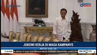 Hari Ini Jokowi Tetap Kerja, Tidak Kampanye, Meski Masa Kampanye Sudah Dimulai