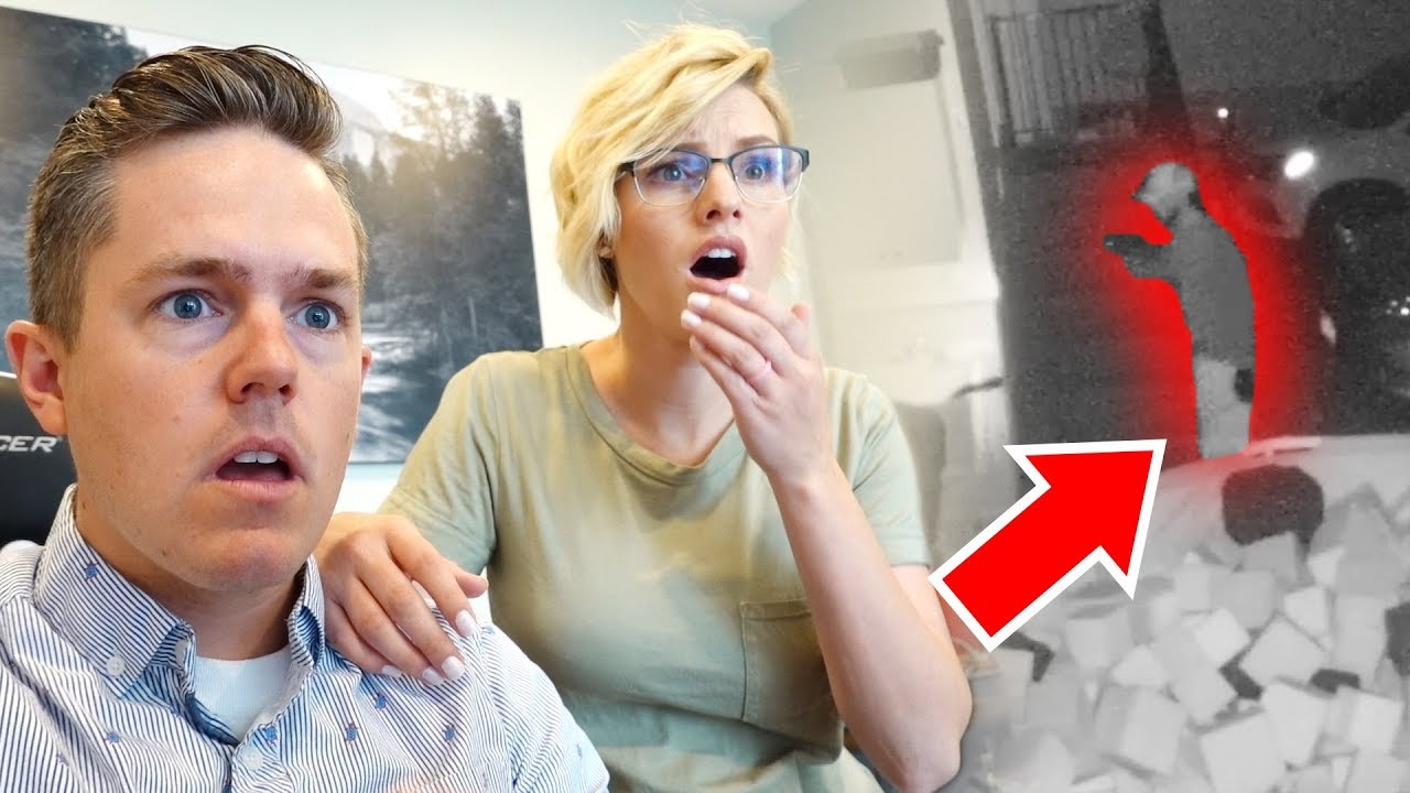 Watching Someone BREAK INTO Our House (Not Clickbait)