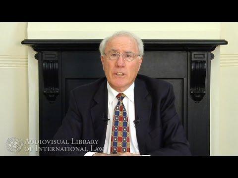 Sir Geoffrey Palmer on International Dispute Settlement
