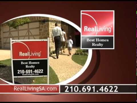 Real Living Best Homes Realty Television Commerical- San Antonio Texas