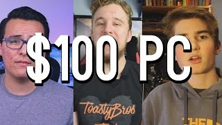 $100 Budget Gaming PC Competition Results! (ft. CompTV, ToastyBros, TechAlways) | OzTalksHW