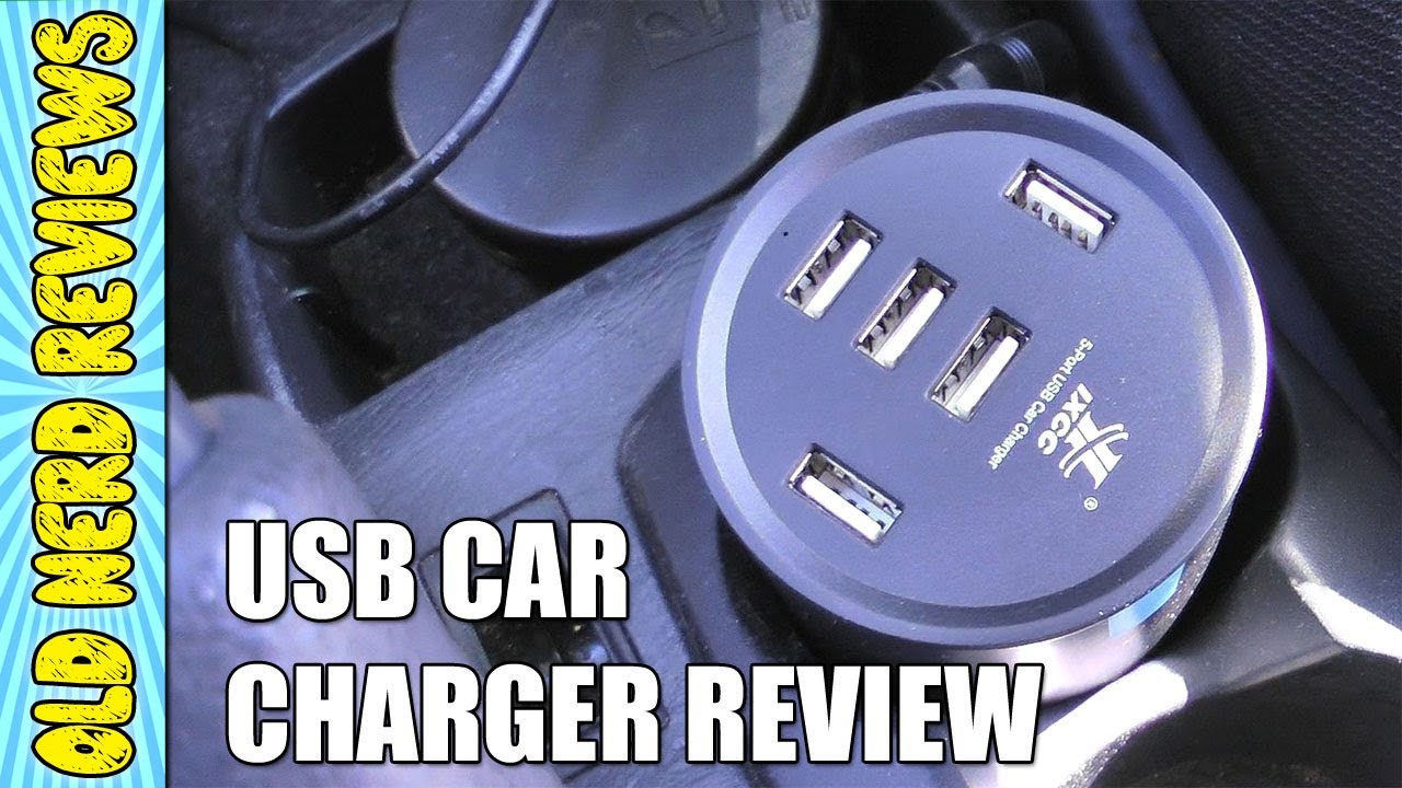 Smart 5 Port Usb Cup Holder Car Charger Review