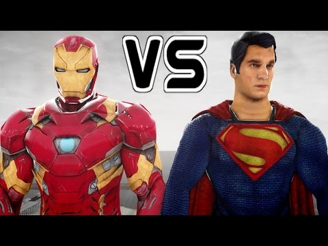 IRON MAN VS SUPERMAN - EPIC SUPERHEROES BATTLE | DEATH MATCH
