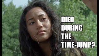 The Walking Dead Season 9 - Did Cyndie Die During The Time-Jump?