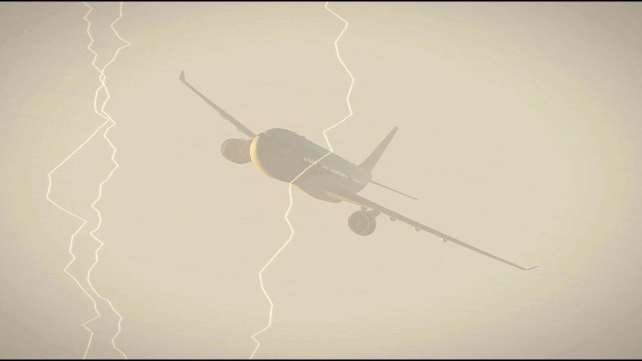 X-Plane 11 - JARDesign A330 - Extreme Autopilot resistance test + Auto  landing by Branislav Milic