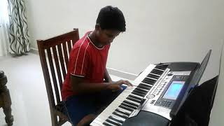 Kondoram Odiyan  Keyboard tutorial | Malayalam Song | Shalex Alex