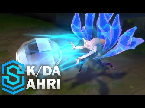 K/DA Ahri Skin Spotlight - Pre-Release - League of Legends