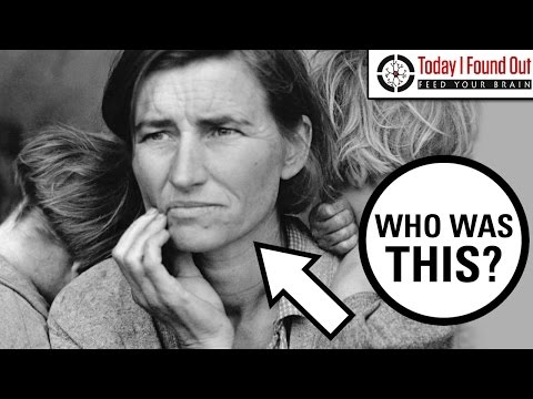 Who was the Woman in the Famous Great Depression Photograph?