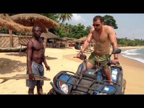Lakka Beach, Freetown, Sierra Leone