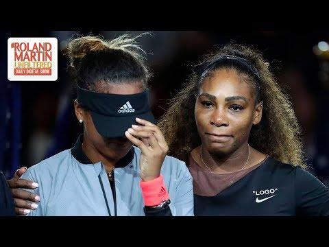 'Repugnant,' Racist Cartoon Of Serena Willams And Naomi Osaka Denounced