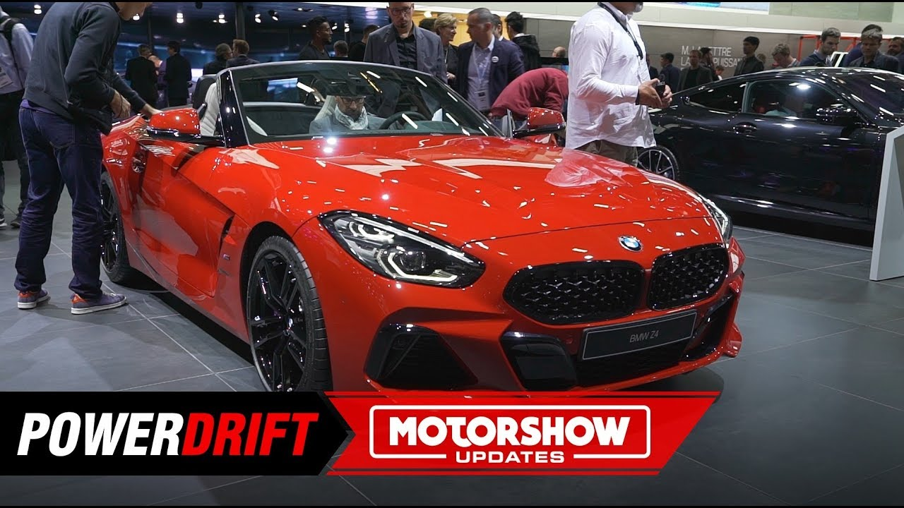 2019 BMW Z4 : Drop top gorgeous! Paris Motorshow 2018 ...