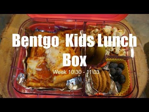 BENTGO BOX LUNCH IDEAS \ WEEK 10\30 - 11\03