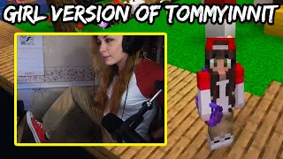 Puffy BECOMES The Girl Version Of TommyInnit &amp KILLS Antfrost Because Of BadBoyHalo! (Dream SMP)
