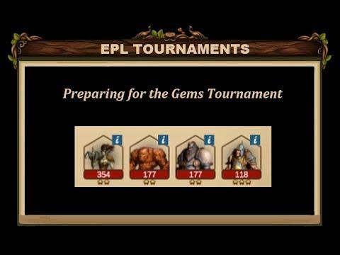 Elvenar - Preparing For The Gems Tournament