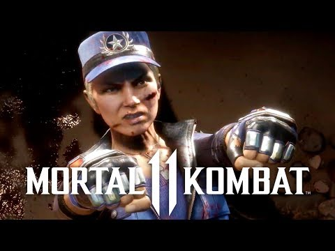 Mortal Kombat - Official Sonya Blade Reveal Trailer
