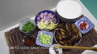 Asian Mushroom & Coconut Soup Recipe - Vegan