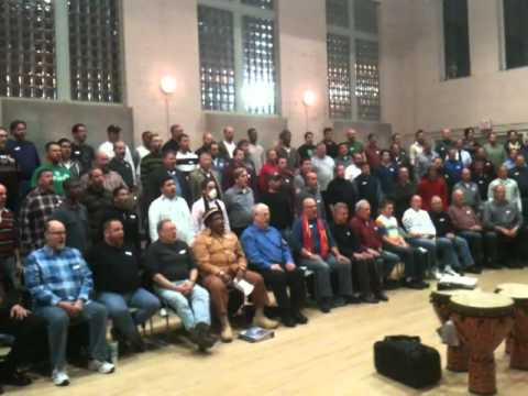 Turtle Creek Chorale In Rehearsal for the 2010...