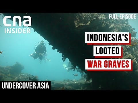 Who's Behind The Illegal Looting Of WWII Shipwrecks Near Indonesia? | Undercover Asia