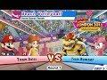 Mario & Sonic At London 2012 Olympic Games - Beach Volleyball #1 Team Daisy | JinnaGaming