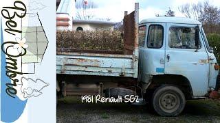 Préparation de notre camion benne vintage Renault SG2 pour son contrôle technique