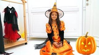 Masal Chooses a Halloween Costume - Fun Kids