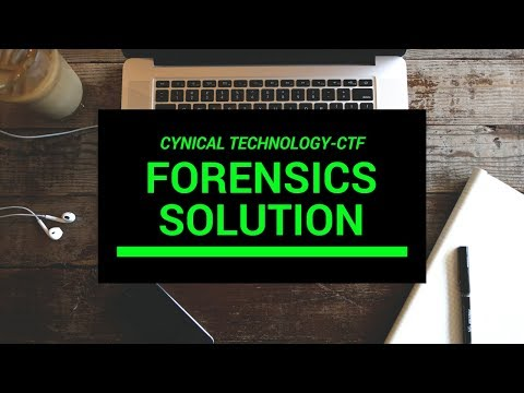 CTF]Forensic Challenge Solution- Cynical Technology CTF