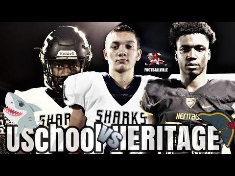 American Heritage vs University School | Highlights Footballville
