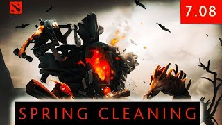 Dota 2 SPRING CLEANING 2018 Update - 7.08 Patch