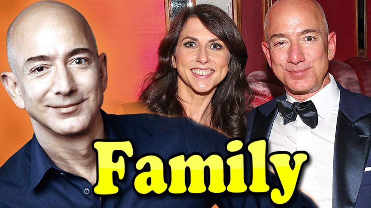 Jeff Bezos and His Ex-Wife, MacKenzie Scott, Have Four Children ...