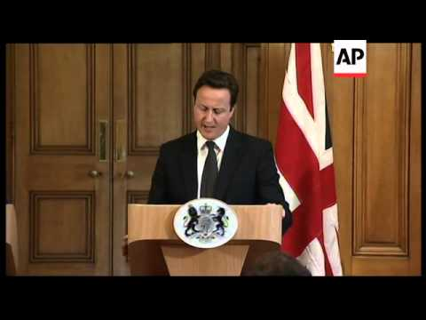 Cameron and Erdogan on fighting in Libya