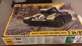 Т-34/85 «Зірка» розпакування