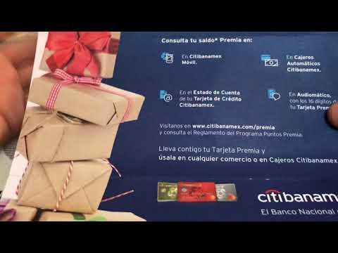 Unboxing Tarjeta Puntos Premia Citibanamex | MIXBITS