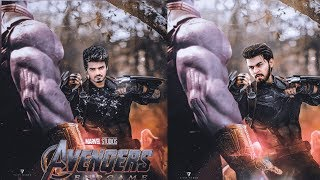 Avengers Endgame Movie Poster Editing, Avengers Special Look Editing