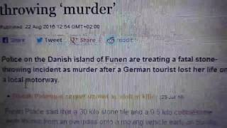German turist mom gets killed in denmark | Truth Hurts