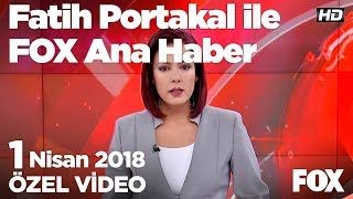Yılmaz: Kendisi özel kliniksel vaka... 1 Nisan 2018 Gülbin Tosun ile FOX Ana Haber Hafta Sonu