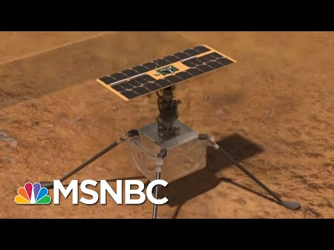 NASA Shows U.S. Capable Of Amazing Feats Even As Texas Struggles With Basics | Rachel Maddow | MSNBC