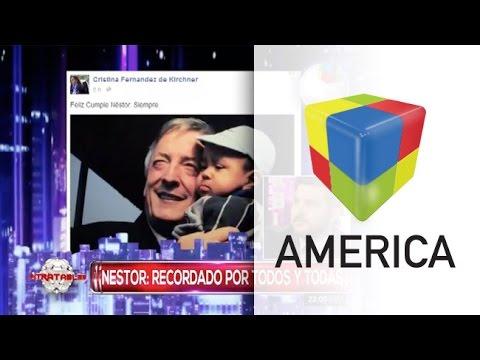 La emoción de Brancatelli al recordar a Néstor Kirchner en su cumpleaños