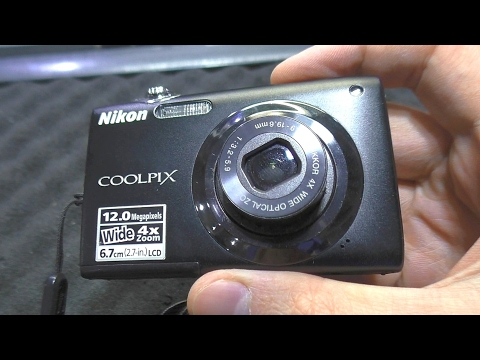 Подводные камни при замене объектива. Фотокамера Nikon S3000
